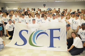SCF Flag in Bradenton