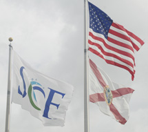 SCF Flag in Lakewood Ranch