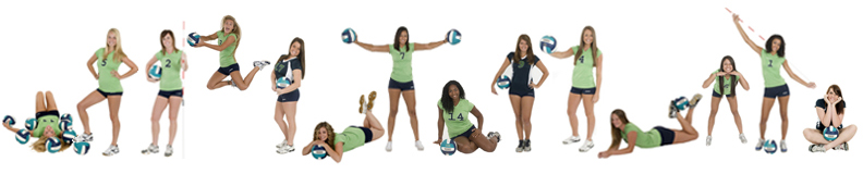 Volleyball Team Lineup