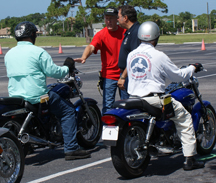 Motorcycle training