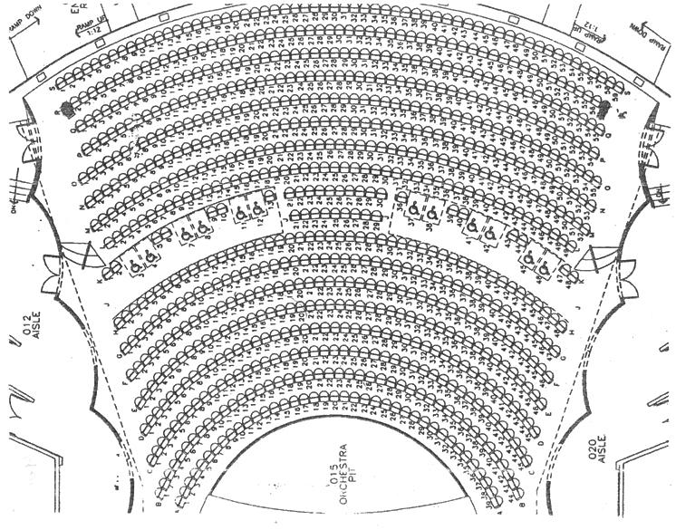 Neel Performing Arts Center Seating Chart