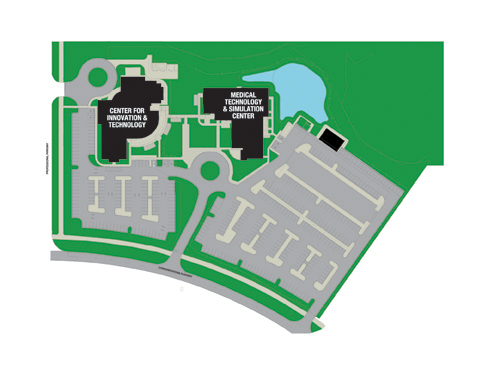 SCF Lakewood Ranch Map