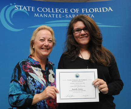 Danielle Janney Winner of Florida Watercolor Society Scholarship