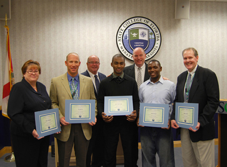 SCF students and employees recognized for Haitian relief efforts
