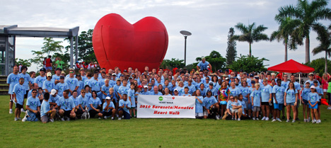 SCF Heart Walk Team