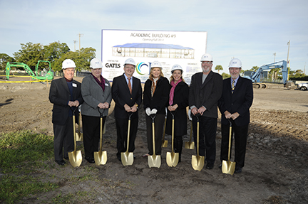 Groundbreaking Academic Building