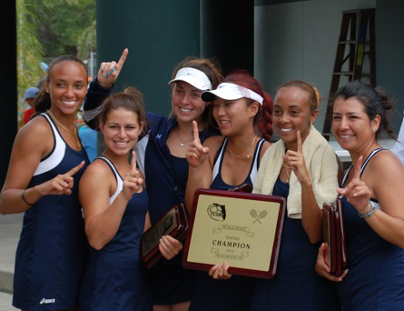 SCF Women's Tennis Team