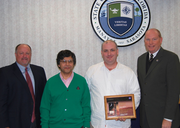 SCF student James Mohan recognized