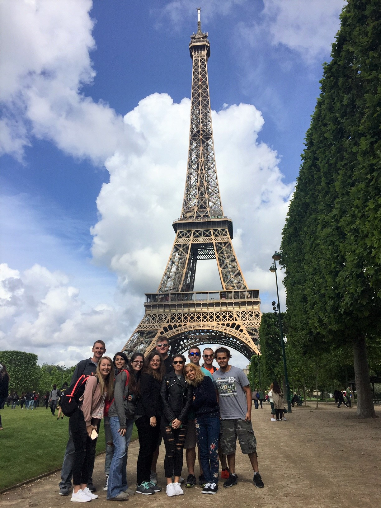 Travelers include SCF students Steven Berhalter; Tyler Clem; Tiffany Coleman; Christopher Kennedy; Victoria Kennedy; Luis Pastor; Milena Sedlar; Rachel Soldado; and SCF faculty members included Michael Rogers, Associate Professor of history and politics and Kristen Zaborski, Assistant Professor of Economics.