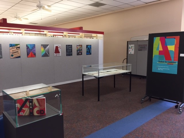 Student Graphic Art Exhibit