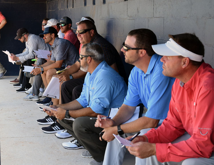 MLB Scouts at SCF