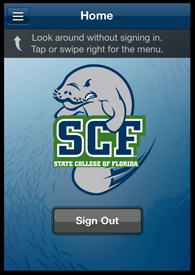 SCFmobile Screen