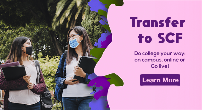 Do college your way. On campus, Online or Go Live!
