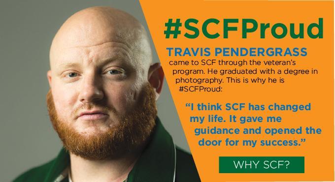 #SCFProud - Travis Pendergrass