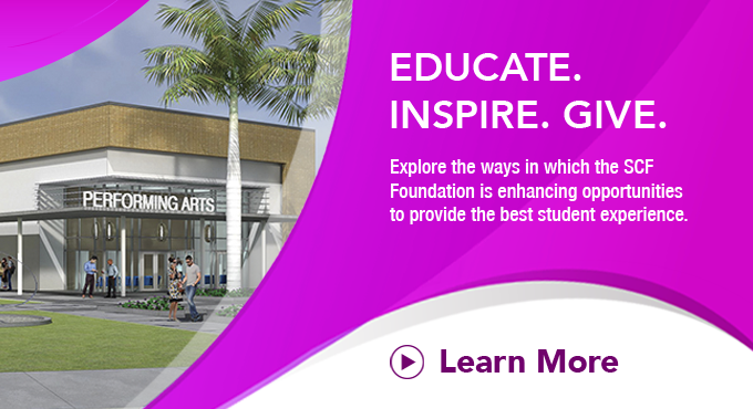 Educate. Inspire. Give. SCF Foundation.