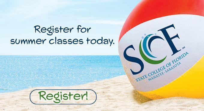 Register for summer classes today!
