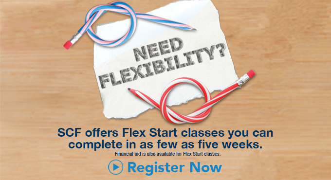 SCF offers Flex Start classes