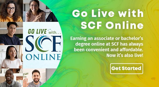 Go Live With SCF Online - live online instruction, Learn More!