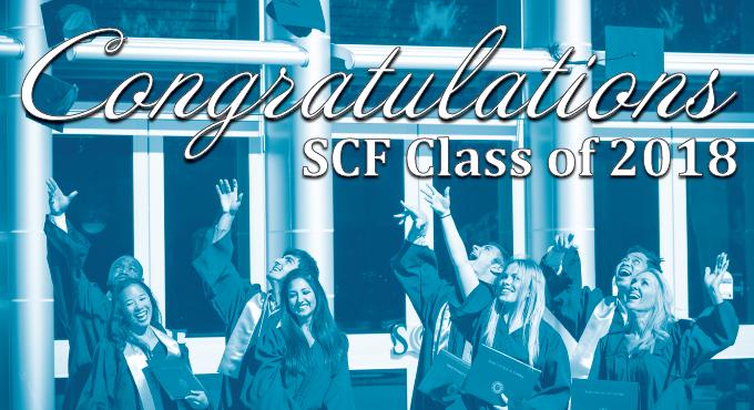 Congratulations SCF Class of 2018
