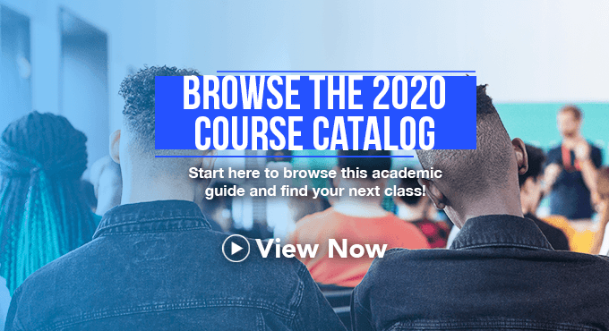 Course Catalog - View Now