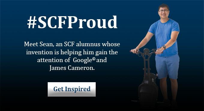 Invention Puts SCF Alumnus in the Spotlight