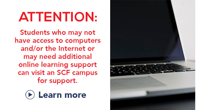 Student computer and internet access information, Learn More.