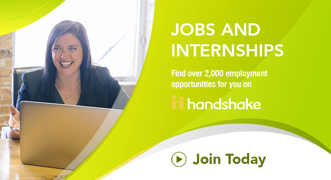 Handshake for Jobs and Internships
