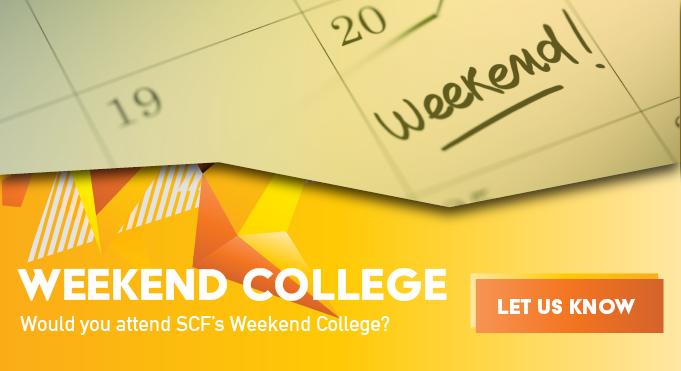 SCF Weekend College Survey