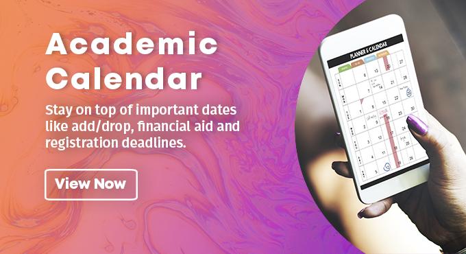 Academic Calendar - View Now