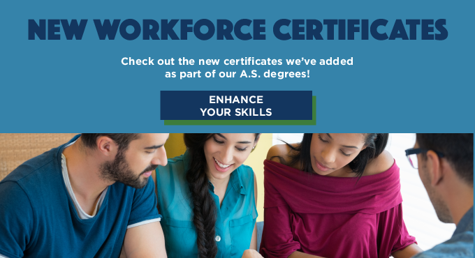 New Workforce Certificates