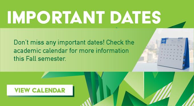SCF Academic Calendar
