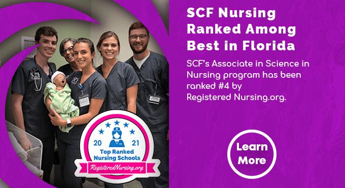SCF Nursing Ranked Among the Best in Florida